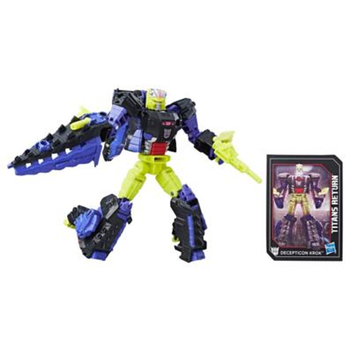 Transformers Generations Titans Return - Deluxe Wave 4 - Krok