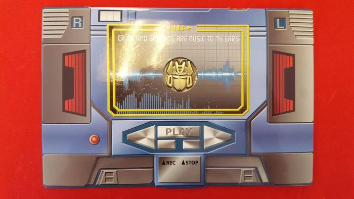 MP-13 Masterpiece Soundwave Coin