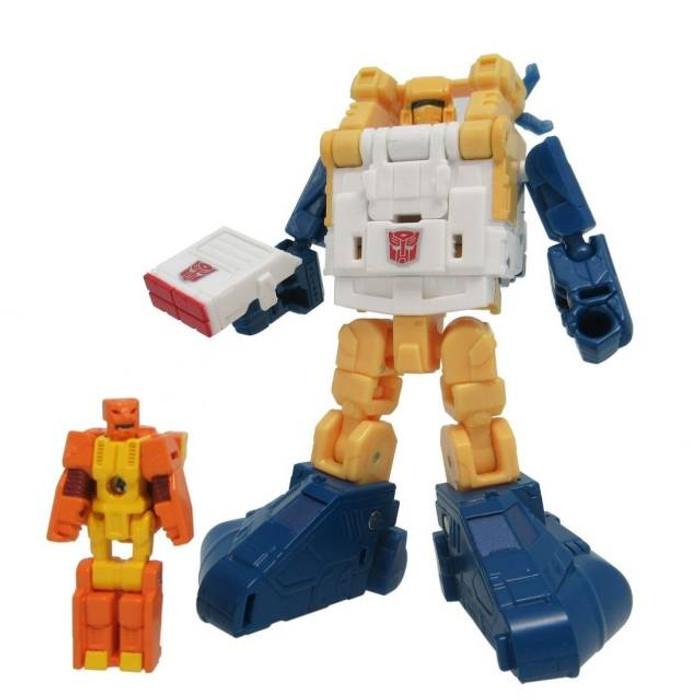 Takara Transformers Legends - LG64 Seaspray & Lione