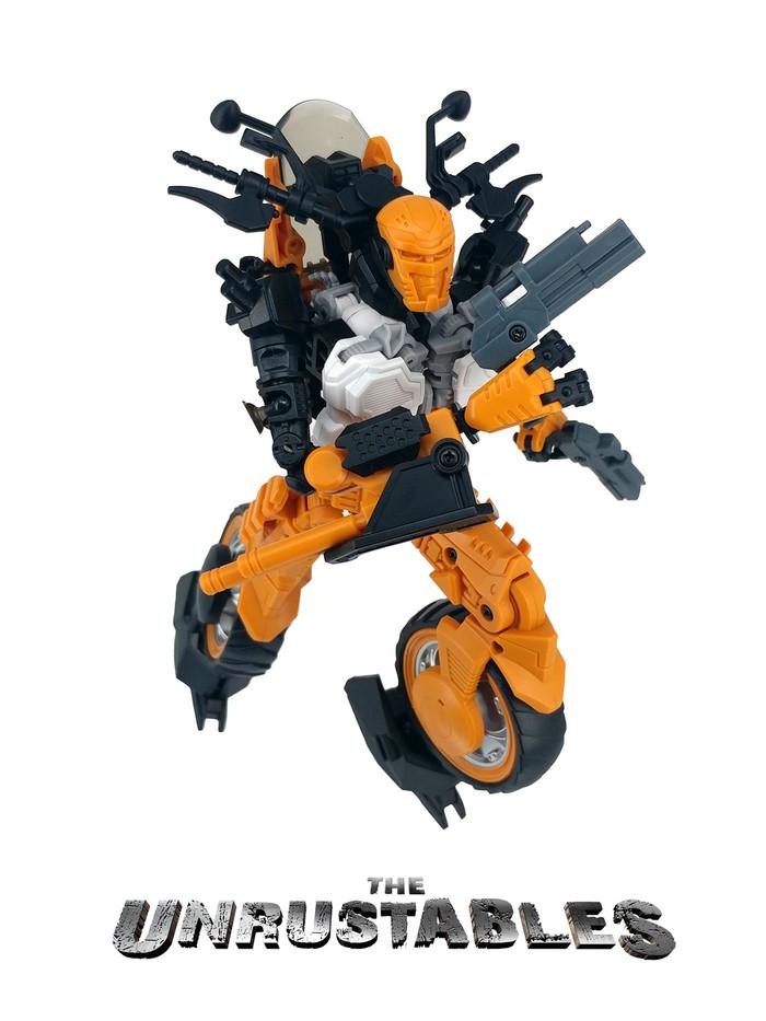 Mayhem Mekanics - The Unrustables: MM01 Burley/Iride
