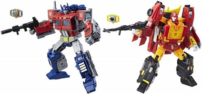 Transformers Generations Power of The Primes - Leader Wave 1 - Set of 2