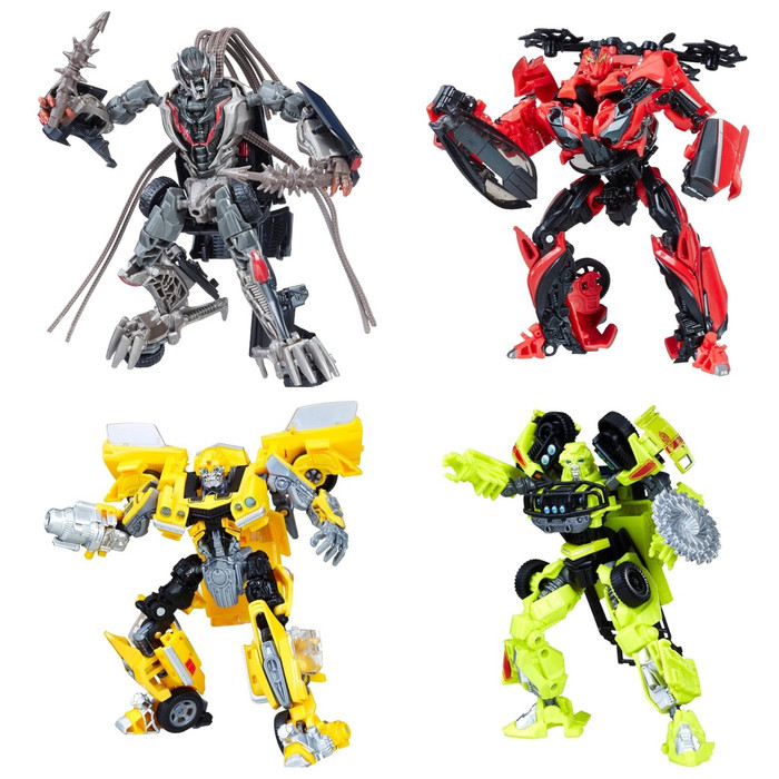 Transformers Generations Studio Series - Deluxe Wave 1 - Set of 4