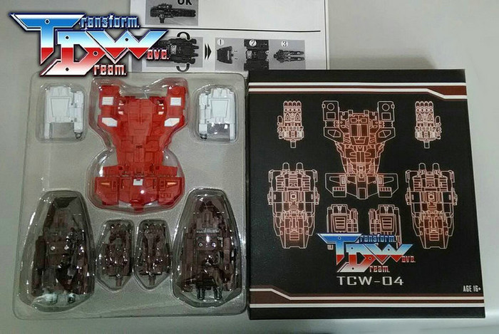 Transform Dream Wave - TCW-04 Computron Add-On Set