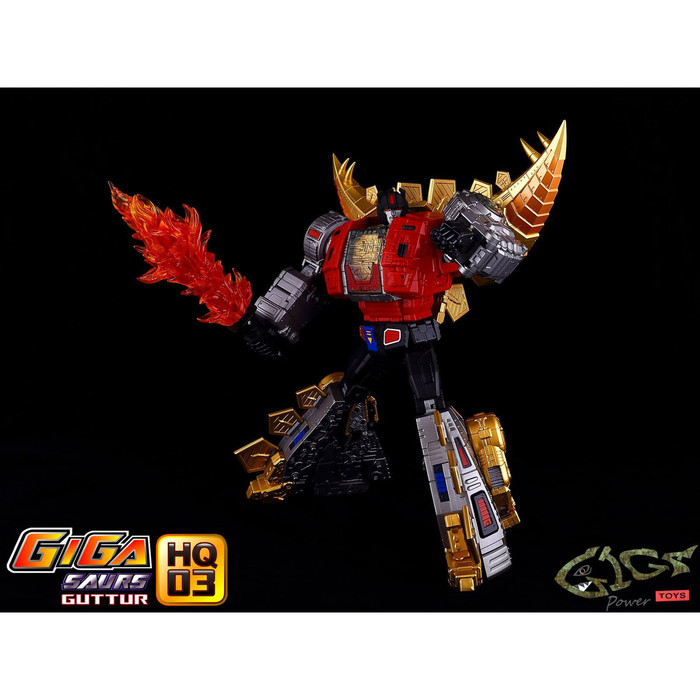 Giga Power - Gigasaurs - HQ03 Guttur - Metallic