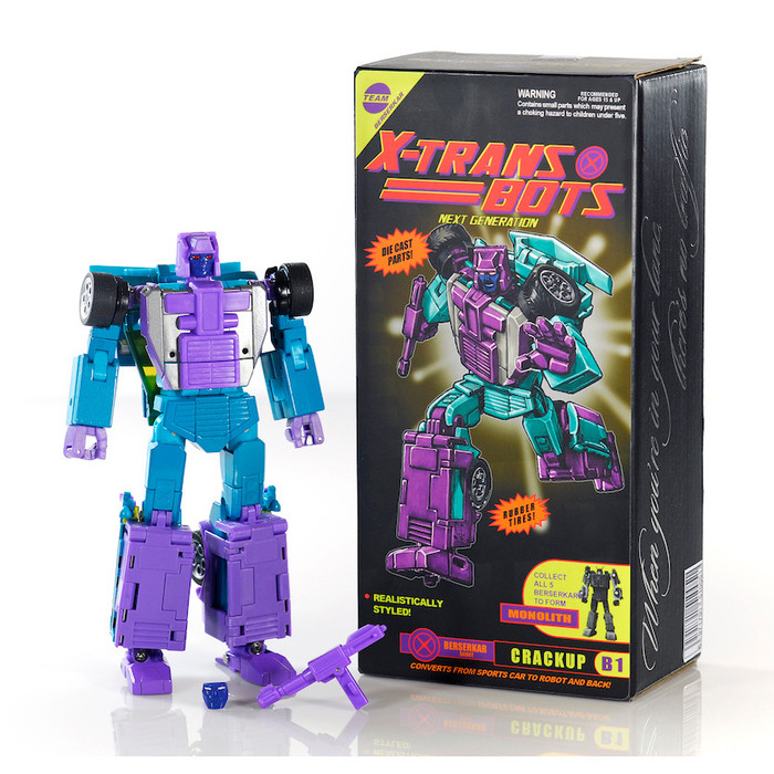 X-Transbots - MX-13 G2 Crackup (TFcon)