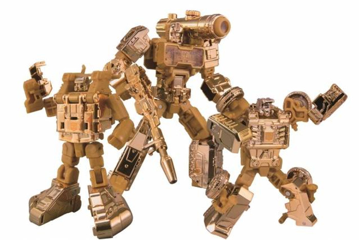Transformers Golden Lagoon - Beachcomber, Perceptor, and Seaspray Set of 3 - Wonderfest Exclusive