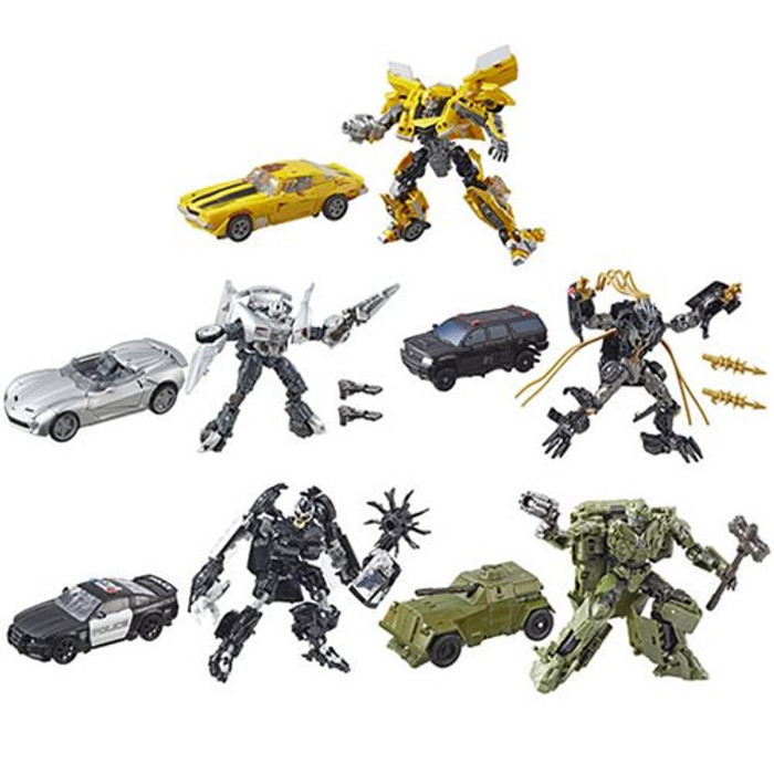Transformers Generations Studio Series - Deluxe Wave 5 - Set of 5