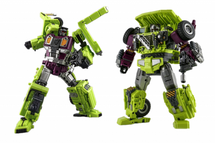 Jin Bao - Defermation - Destroy Force Builder D - Part C Set of 2