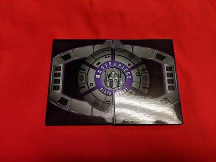 MP-10B Masterpiece Convoy Optimus Prime Black Version Coin (Nemesis Prime)