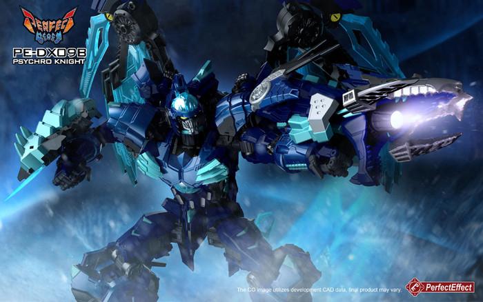 Perfect Effect - PEDX09B Psychro Knight