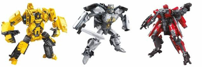 Transformers Generations Studio Series - Deluxe Wave 6 - Set of 3