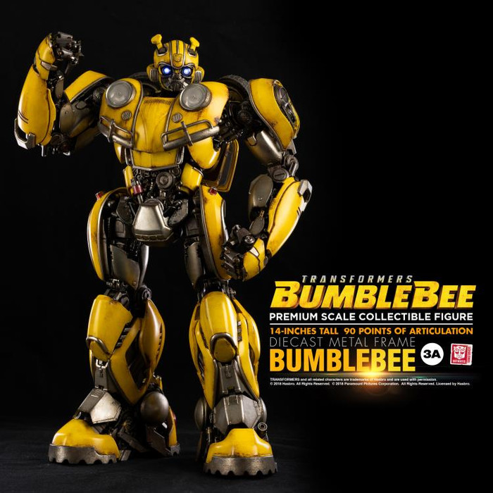 ThreeA - Premium Scale Collectible Figure - Bumblebee Movie: Bumblebee (Deposit Required)