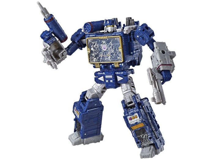 Transformers Generations Siege - Voyager Soundwave