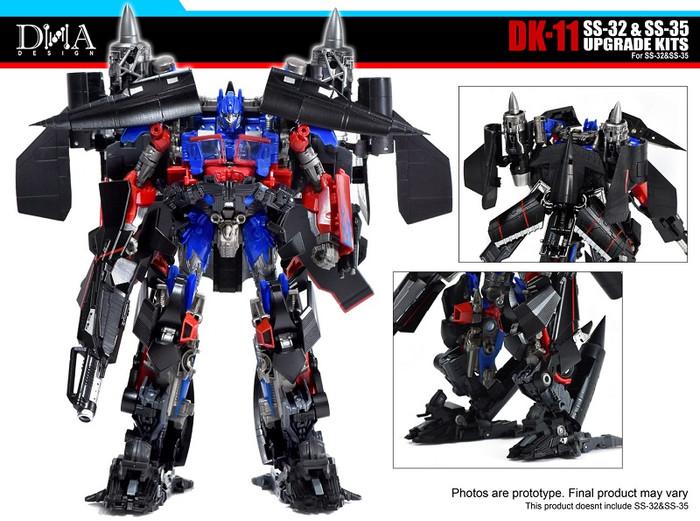 DNA Design - DK-11 SS-32 Optimus & SS-35 Jetfire Upgrade Kit