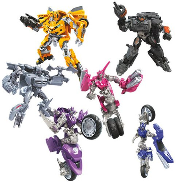 Transformers Generations Studio Series - Deluxe Wave 8 - Set of 4