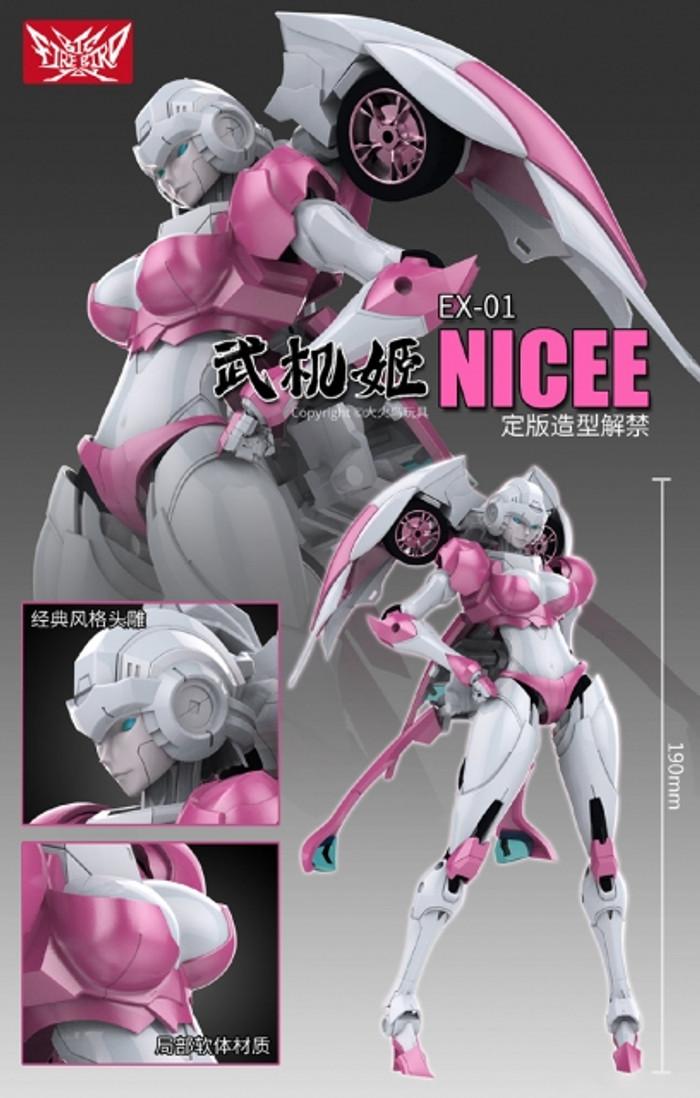 Big Firebird Toys - BFB EX-01 Nicee
