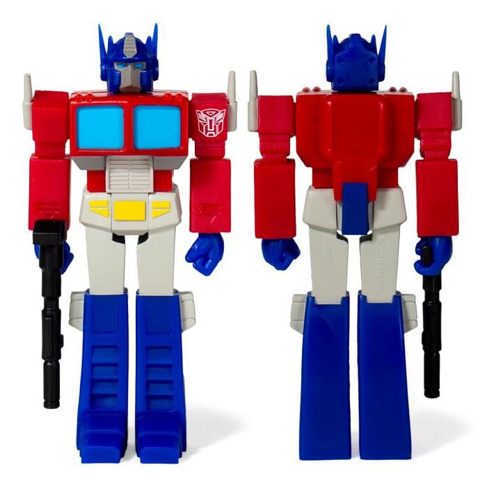 Transformers X Super 7 - Transformers ReAction: Optimus Prime