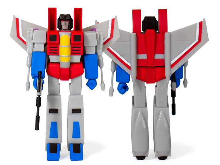 Transformers X Super 7 - Transformers ReAction: Starscream