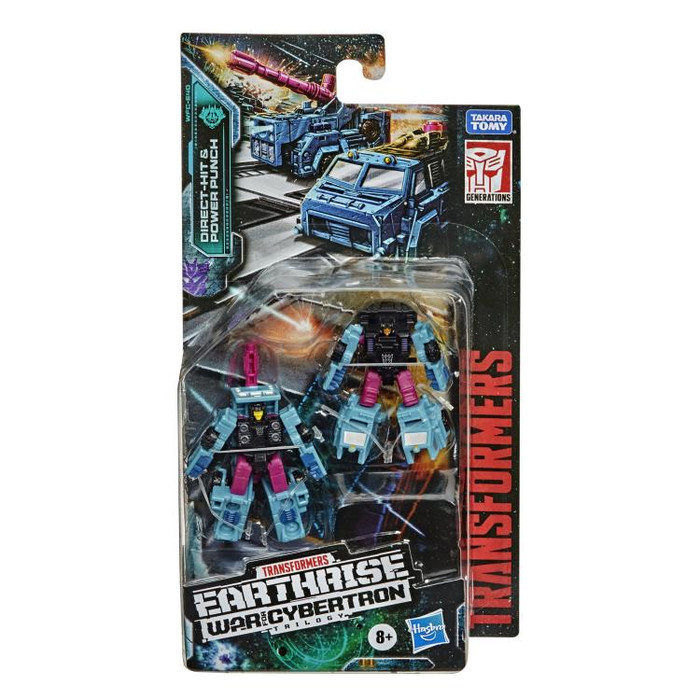 Transformers Generations Earthrise - Micromasters - Direct-Hit & Power Punch