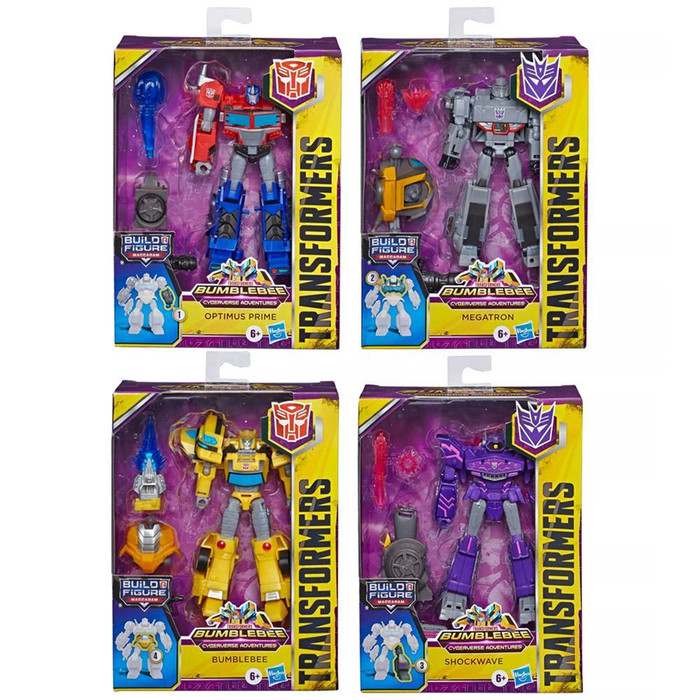 Transformers Cyberverse - Deluxe Wave 1