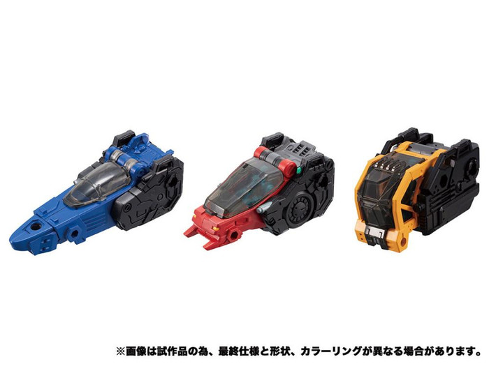 Diaclone Reboot - DA-53 Tryverse Bullet Core Set (Takara Tomy Mall Exclusive)