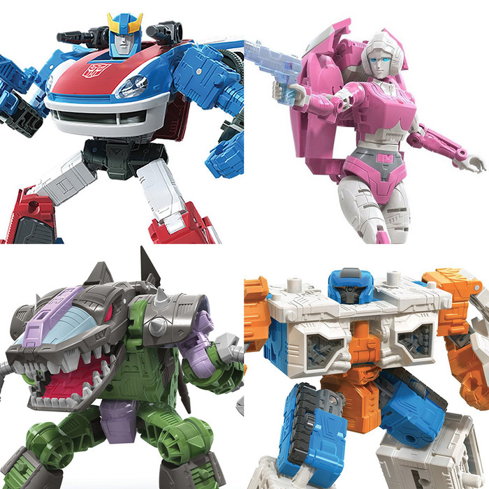 Transformers War for Cybertron - Earthrise - Deluxe Wave 2 - Set of 4