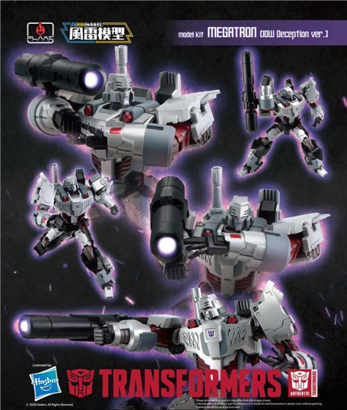 Flame Toys - Furai Model 14: Megatron IDW Decepticon Version Model Kit