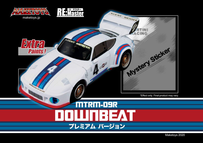 Maketoys Remaster Series - MTRM-09R Downbeat Premium Version