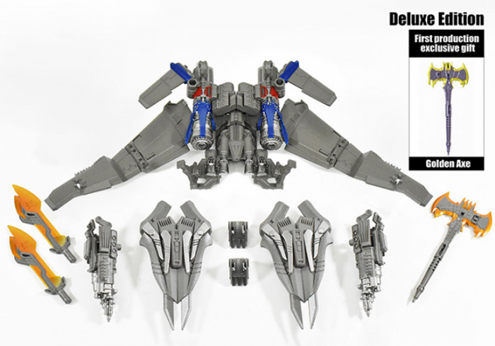 DNA Design - DK-15 Studio Series Optimus Prime Deluxe Upgrade Kit