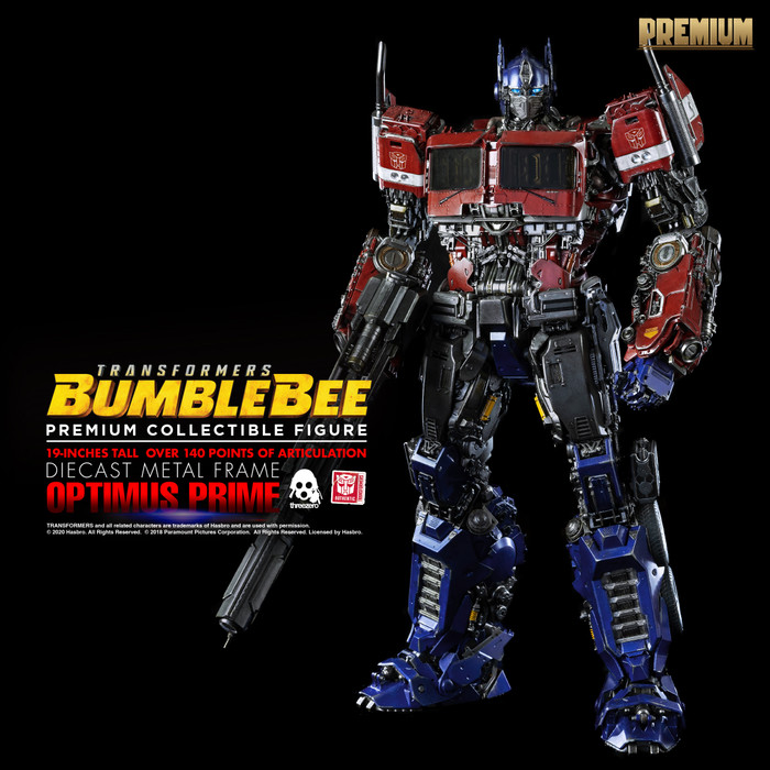 Threezero - Bumblebee Movie: Premium Optimus Prime