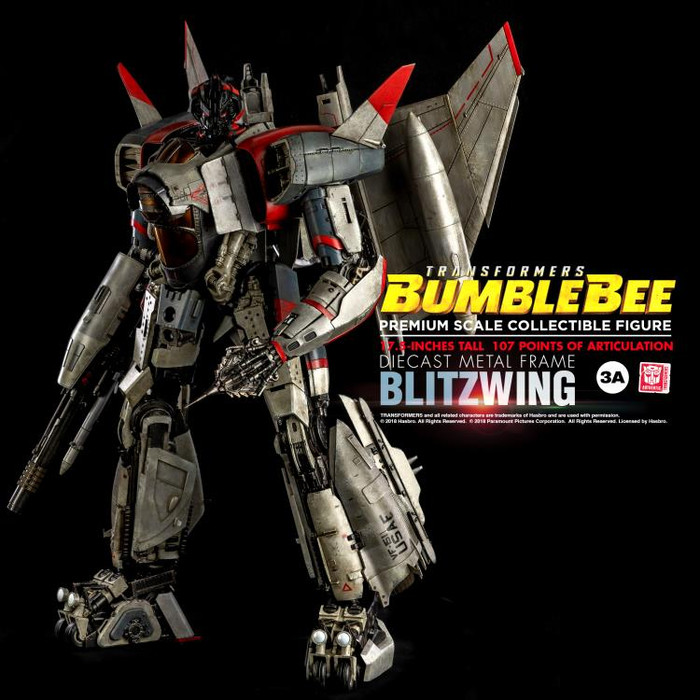 Threezero - Bumblebee Movie: Premium Blitzwing
