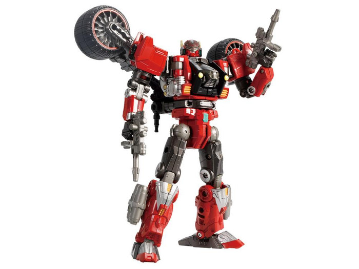 Diaclone Reboot - DA-59 Tryverse Trirambler [Red Chaser] (Takara Tomy Mall Exclusive)