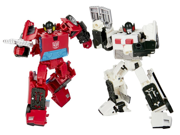 Transformers Generations Selects - Deluxe Cordon and Spin-Out Two Pack