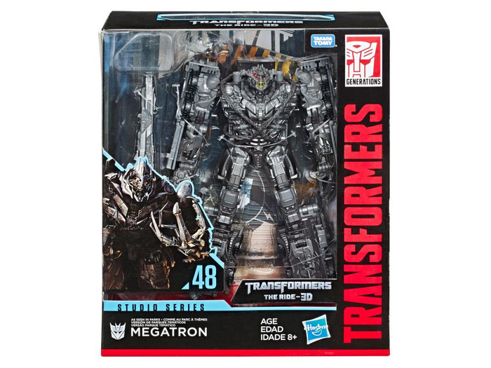 Transformers Studio Series - Transformers The Ride 3D: Leader Megatron