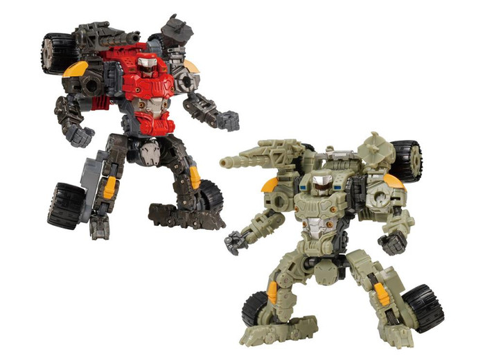 Diaclone Reboot - DA-63 Verse Riser No. 2 and V-Mover 02 Exclusive Set