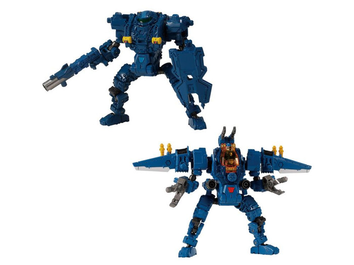 Diaclone Reboot - DA-64 Maneuver Gamma and Delta Mobile Base Exclusive Set