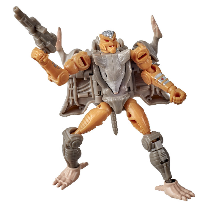 Transformers War for Cybertron: Kingdom - Core Class Rattrap