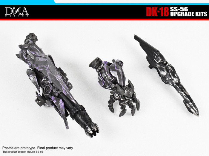 DNA Design - DK-18 Studio Series 56 Leader Shockwave Upgrade Kit