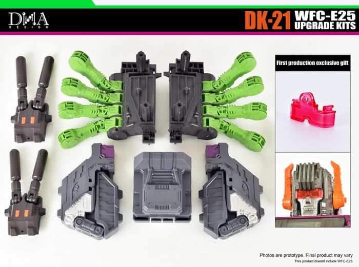 DNA Design - DK-21 WFC Earthrise Titan Scorponok Upgrade Kit #2