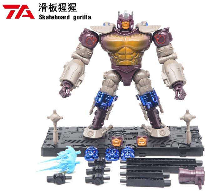 TransArt Toys - Skateboard Gorilla