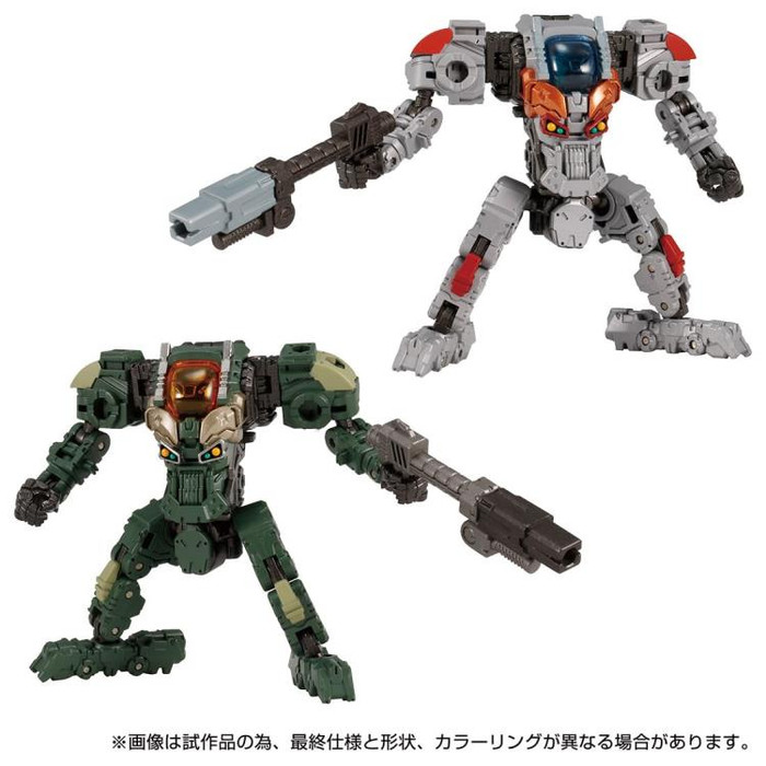 Diaclone Reboot - DA-68 Verseriser V Mover No.03 Exclusive Set