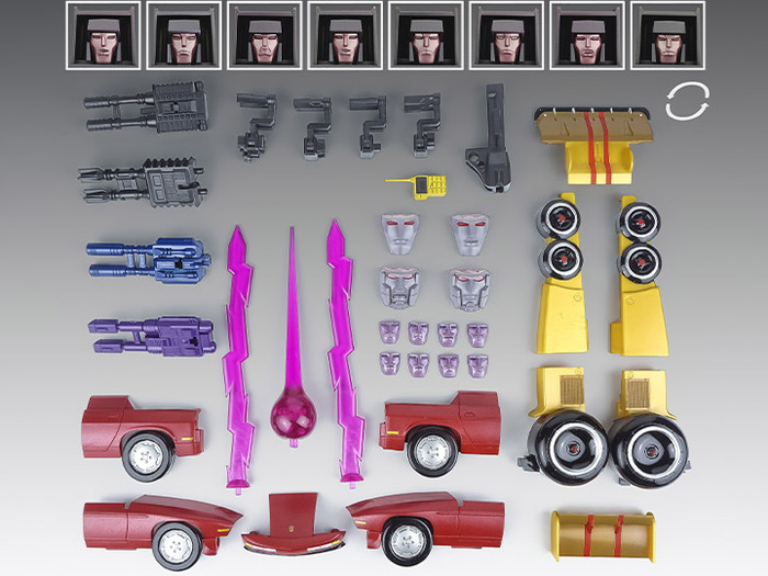 X-Transbots - MX-12C Accessory Pack
