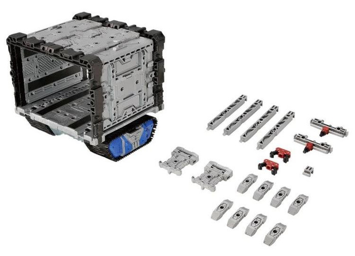 Diaclone Reboot - Extra Pod Grander Expansion Unit Exclusive