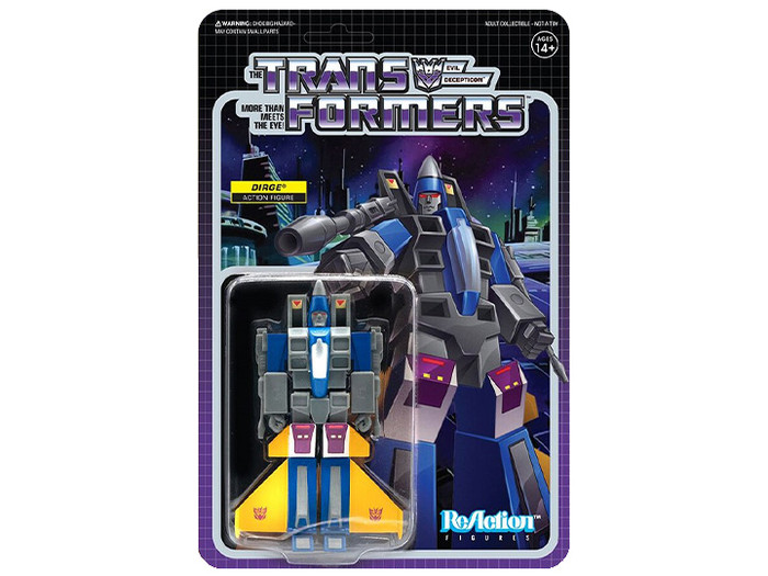 Transformers X Super 7 - Transformers ReAction: Dirge