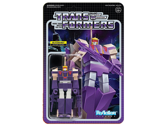 Transformers X Super 7 - Transformers ReAction: Blitzwing