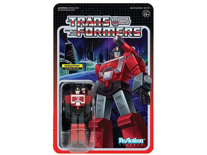 Transformers X Super 7 - Transformers ReAction: Perceptor