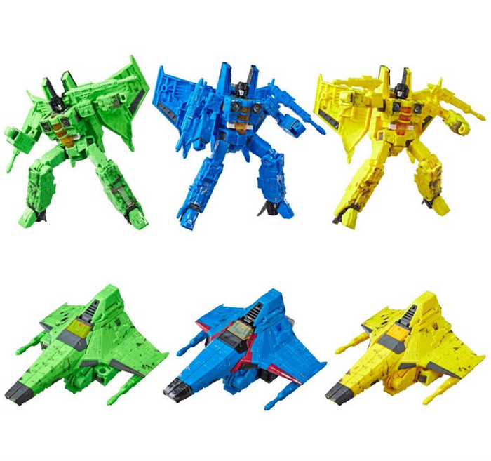 Transformers War for Cybertron - Siege - Voyager Rainmakers Seekers 3-Pack
