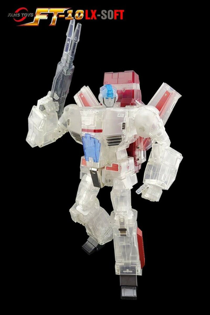 Fans Toys - FT-10 LX-Soft Phoenix Clear Version