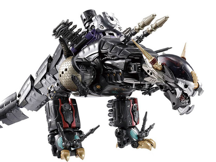 Diaclone Reboot - DA-75 Warudaros (Drago Head) Exclusive