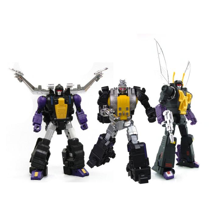 Fans Toys - Set of 3 Figures [FT-12 Grenadier/FT-13 Mercenary/FT-14 Forager]